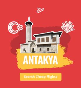 flights to Antakya