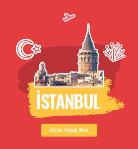 İstanbul uçak bileti