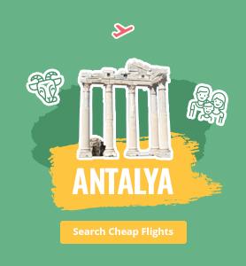 flights to Antalya