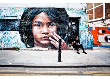 avrupa sokak sanatı
