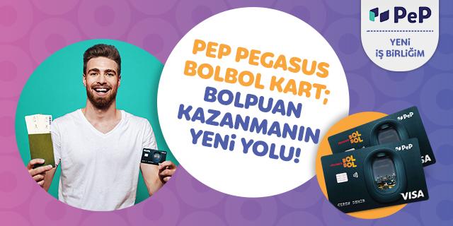 PEP Pegasus BolBol Kart Başvurusu