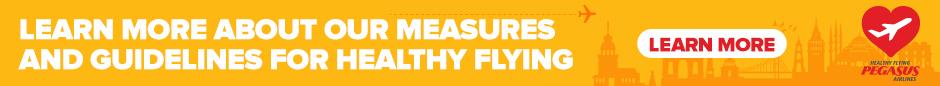 Pegasus Airlines healty flying